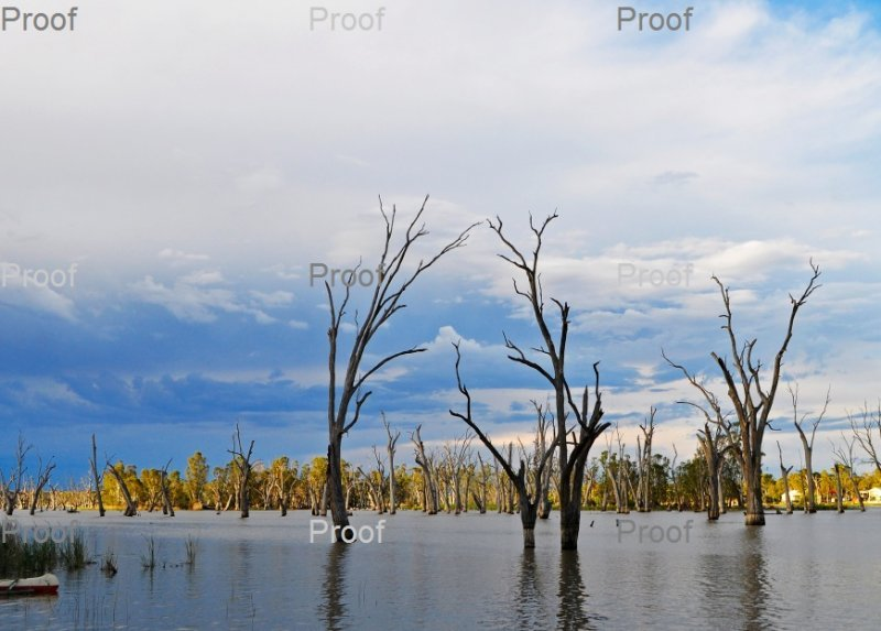Storm Clouds Blanchetown Riverland, South Australia
