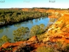 view from Headings cliffs. Riverland wetlands, South Australia