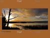 Sunset,Hart lagoon, Waikerie, wetlands, South Australia, The Riverland