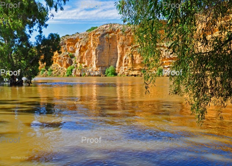 Limestone Cliffs, Walker Flat. Murraylands South Australia