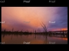 page 1 of 2 page spread Sunset Blanchetown Bridge, Blanchetown The Riverland South Australia