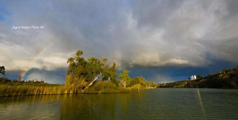 late afternoon storm clouds at Waikerie Riverland, South Australia