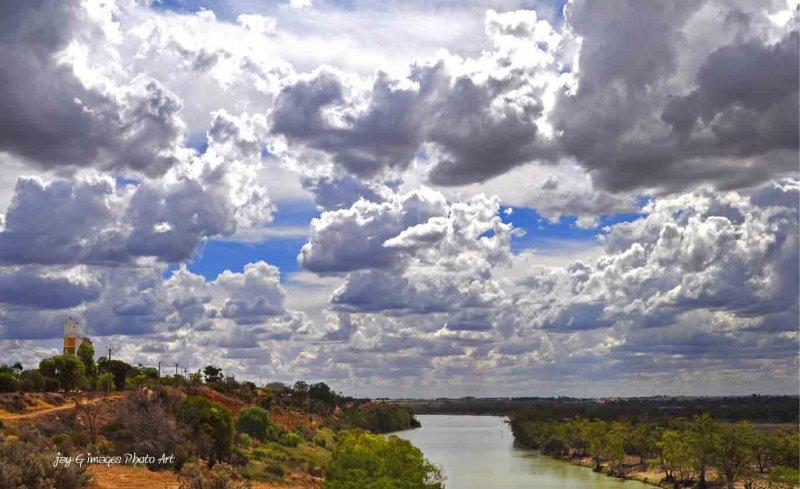 spectacular sky Waikerie Clifftop walk