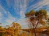 Skyscape Waikerie clifftop walk. Riverland South Australia