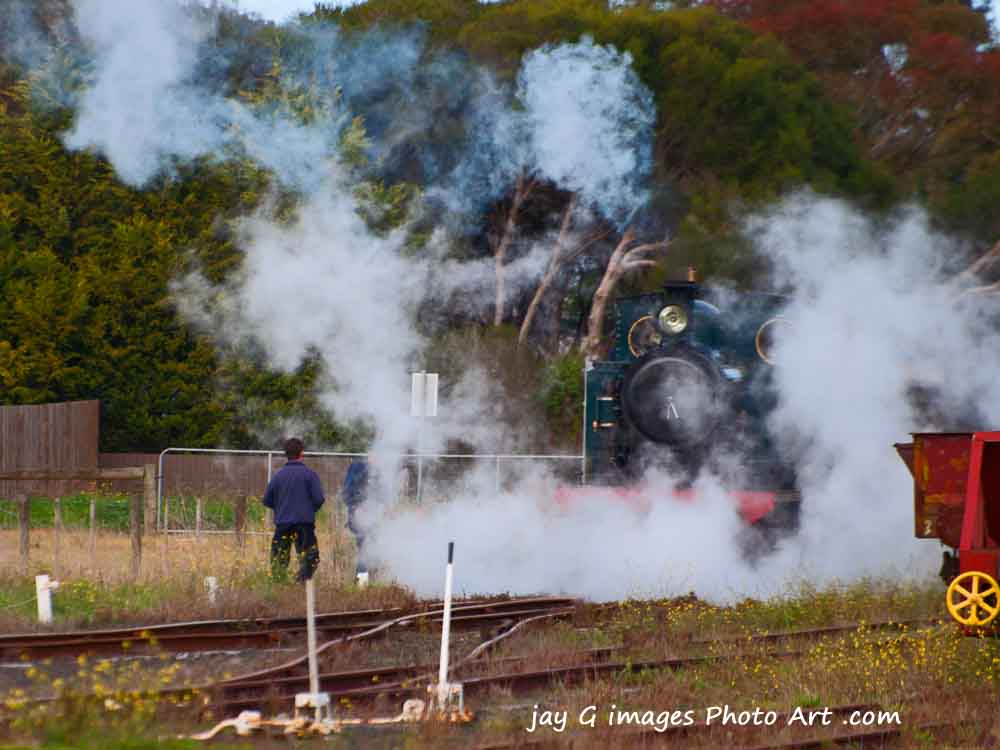 Drysdale steam train